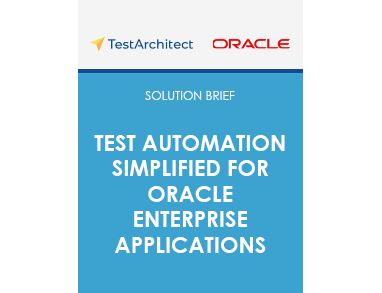 Test Automation Simplified for Oracle Enterprise Applications