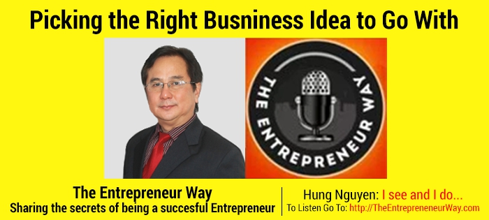 Picking the Right Business Idea to Go With – with Hung Nguyen Co-founder and Co-owner of Logigear
